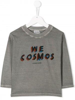 Футболка с принтом We Cosmos Bobo Choses. Цвет: синий