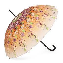 Зонт механический 1128 16B оранжевый JEAN PAUL GAULTIER
