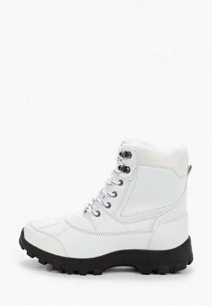 Ботинки Mon Ami. Цвет: белый