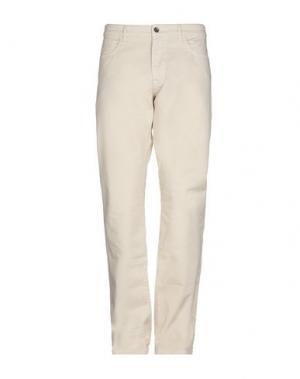 Повседневные брюки HISTORIC. Цвет: слоновая кость
