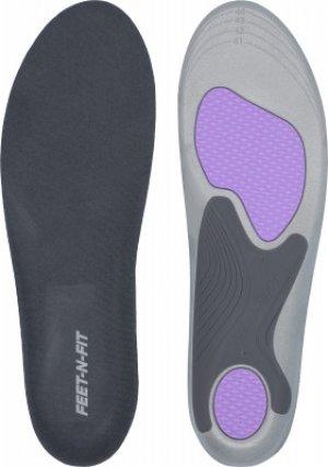 Стельки мужские Feet-n-Fit Active Support, размер 41-45. Цвет: серый