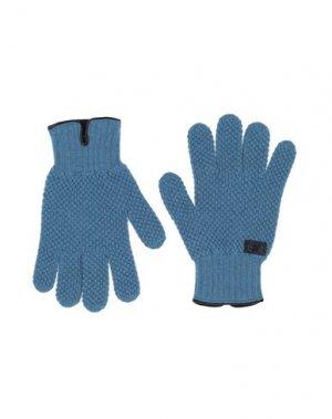Перчатки HARMONT&BLAINE. Цвет: лазурный