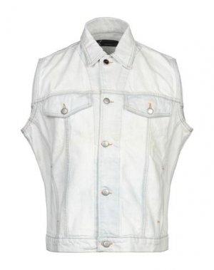 Джинсовая верхняя одежда ANDREW MACKENZIE. Цвет: белый