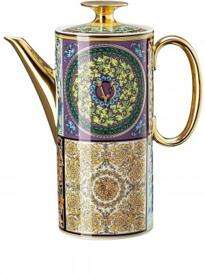 Кофейник Barocco Mosaic (1.2 л) Versace. Цвет: синий