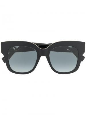 Солнцезащитные очки F Is Fendi Eyewear. Цвет: черный