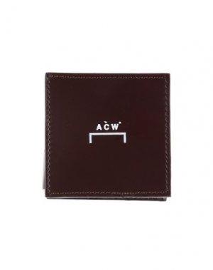 Кошелек для монет A-COLD-WALL*. Цвет: темно-коричневый