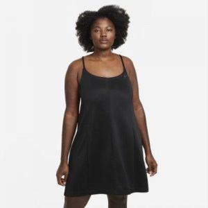 Платье Sportswear Icon Clash (большие размеры) - Черный Nike