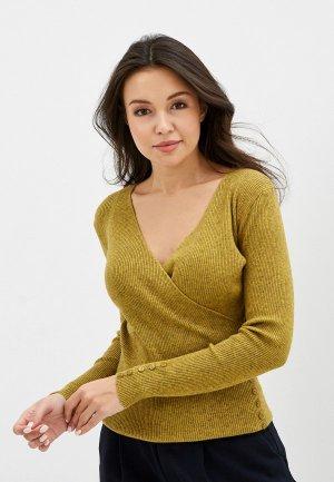Пуловер Блисс. Цвет: желтый