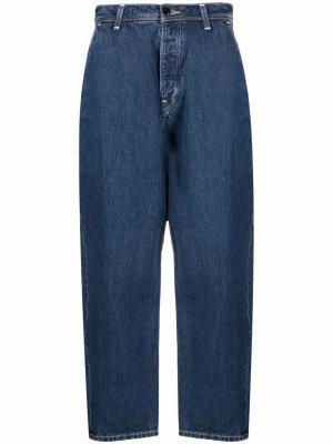 Levis Red широкие джинсы 1999 Twisted Baggy Levi's. Цвет: синий