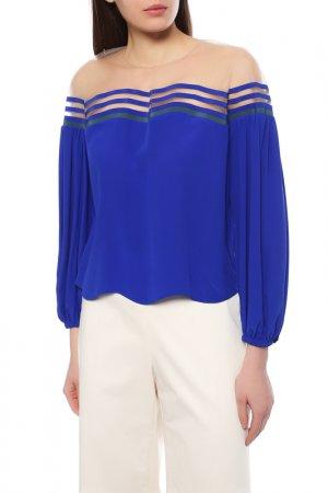 Блуза Fendi. Цвет: синий