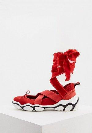 Туфли RED(V). Цвет: красный