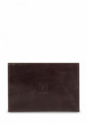 Обложка для паспорта Reconds Runway. Цвет: коричневый