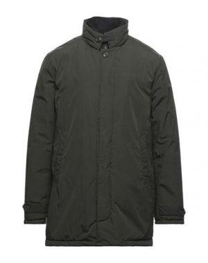 Куртка CENSURED. Цвет: зеленый-милитари