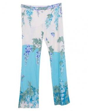 Повседневные брюки LEONARD Paris. Цвет: слоновая кость