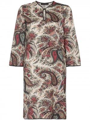 Платье-туника с принтом пейсли Etro. Цвет: 800 multicoloured