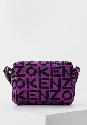 Сумка Kenzo. Цвет: фиолетовый