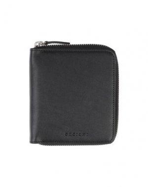 Бумажник ORCIANI. Цвет: черный