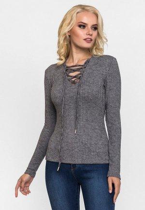 Пуловер Gloss. Цвет: серый