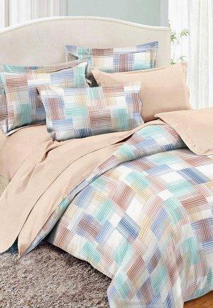 Постельное белье 2-спальное Cleo Home Pure Cotton. Цвет: разноцветный