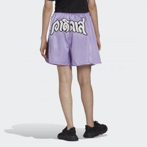 Шорты Boxing Originals adidas. Цвет: фиолетовый