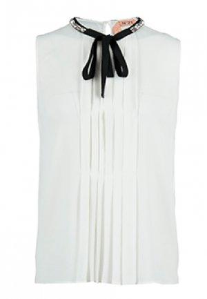 Блуза No21. Цвет: белый