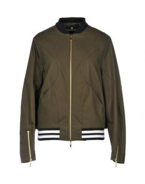Куртка CAPUCCI. Цвет: зеленый-милитари