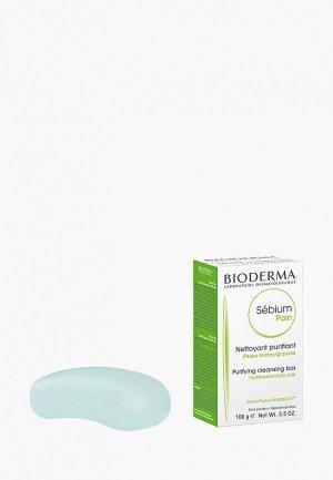 Мыло Bioderma Себиум, 100 г. Цвет: белый