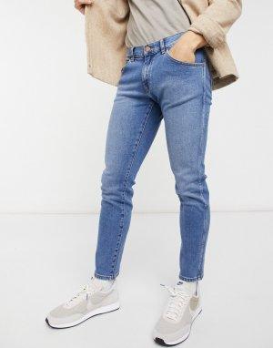 Синие зауженные джинсы Bryson-Голубой Wrangler