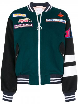 Adrenalin Seekers bomber jacket Mira Mikati. Цвет: зеленый