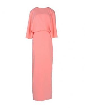 Длинное платье AQ/AQ. Цвет: розовый