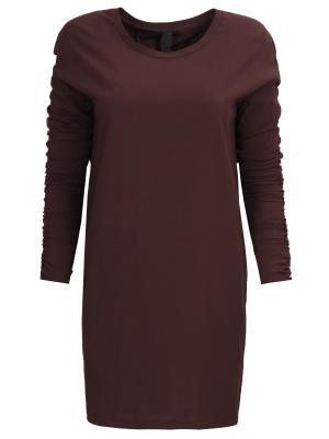 Платье-мини с драпировкой ILARIA NISTRI