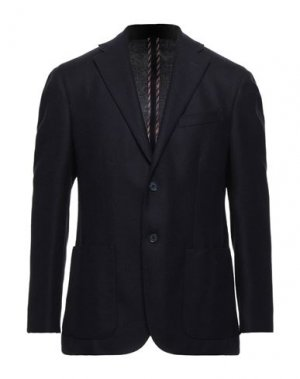 Пиджак CC COLLECTION CORNELIANI. Цвет: темно-синий