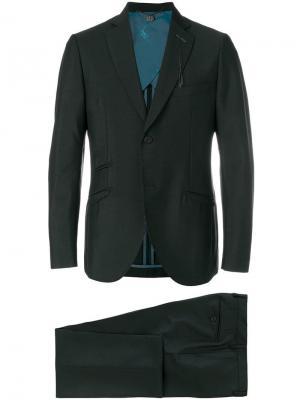 Классический костюм-двойка Maurizio Miri. Цвет: черный