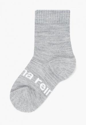 Носки Reima Warm Woolmix. Цвет: серый