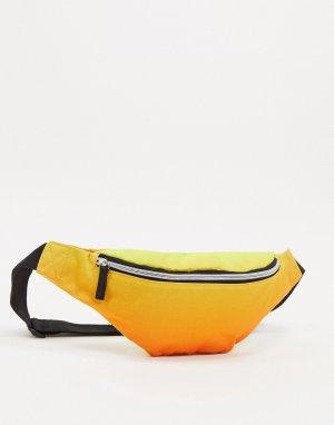 Сумка-кошелек на пояс с принтом тай-дай -Многоцветный SVNX