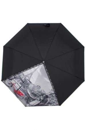 Зонт-автомат Flioraj. Цвет: черный