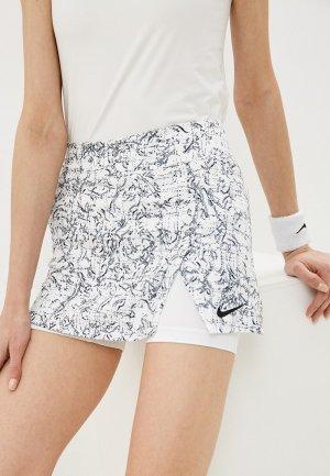 Юбка-шорты Nike W NKCT VICTORY SKIRT STR PR. Цвет: белый