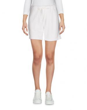 Повседневные шорты CLU. Цвет: белый