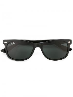Солнцезащитные очки RAY-BAN JUNIOR. Цвет: черный