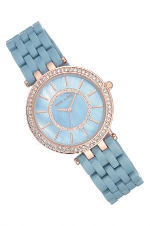 Часы наручные Anne Klein. Цвет: голубой, розовый