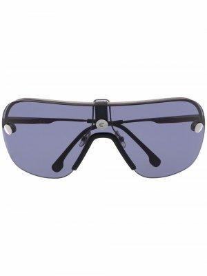 Солнцезащитные очки с эффектом градиента Carrera. Цвет: черный