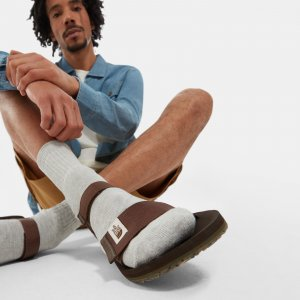 Мужские сандалии Skeena The North Face. Цвет: серый
