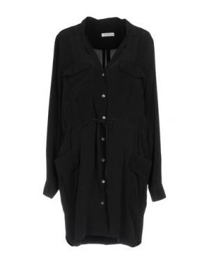 Короткое платье EQUIPMENT. Цвет: черный