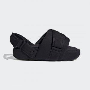 Сандалии Y-3 Comfylette High by adidas. Цвет: черный
