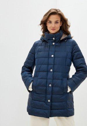 Куртка утепленная Steinberg. Цвет: синий