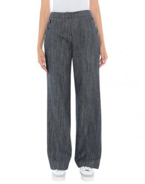 Повседневные брюки CLIPS MORE. Цвет: синий