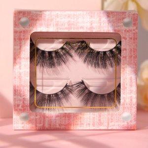 Накладные ресницы - PINK TWEED SHEIN. Цвет: pink tweed