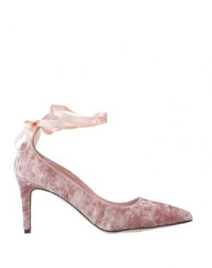 Туфли ANNA F.. Цвет: светло-розовый