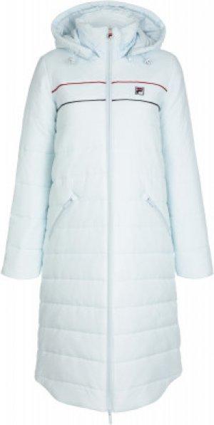Куртка утепленная женская , размер 46 FILA. Цвет: голубой