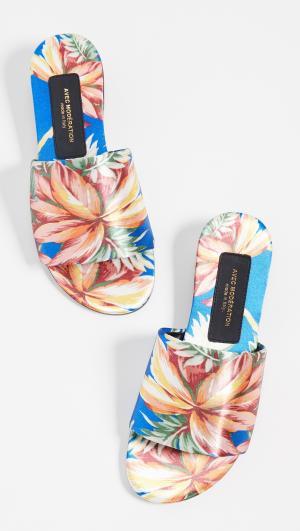 Maui Open Toe Slide Sandals Avec Moderation
